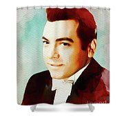 Mario Lanza, Hollywood Legend Shower Curtain