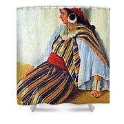 Mario Ridola Woman Shower Curtain
