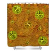 Mariposa In Colors Shower Curtain