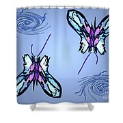 Mariposas Shower Curtain