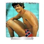 Mark Spitz, Olympic Champion Shower Curtain