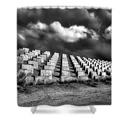 Markers Shower Curtain