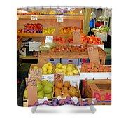 Market At Bensonhurst Brooklyn Ny 11 Shower Curtain