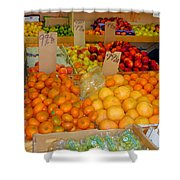 Market At Bensonhurst Brooklyn Ny 9 Shower Curtain