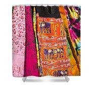 Market Bag Shower Curtain