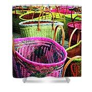 Market Baskets - Libourne Shower Curtain