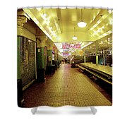 Market Day Is Done Shower Curtain