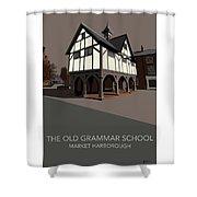 Market Harborough Grammar School Shower Curtain