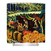 Market In Provence Shower Curtain