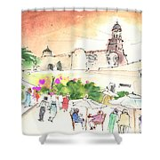 Market In Teguise In Lanzarote 02 Shower Curtain