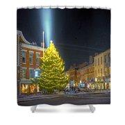 Market Square 025 Shower Curtain