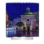 Market Square Shower Curtain