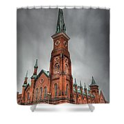 Market Square Presbyterian Shower Curtain