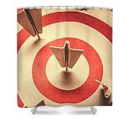 Marketing Your Target Market Shower Curtain