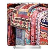 Marketplace Colors Shower Curtain
