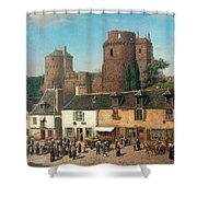 Marketplace In Vitre Shower Curtain