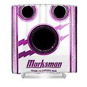 Marksman By Bernard Marks Shower Curtain