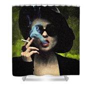 Marla Singer Shower Curtain