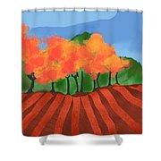 Marlborough Fall Shower Curtain