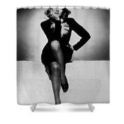 Marlene Dietrich Shower Curtain
