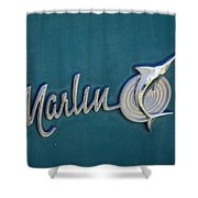 Marlin Shower Curtain