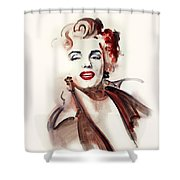 Marilyn Manroe Shower Curtain
