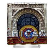 Marquee Close Up Shower Curtain