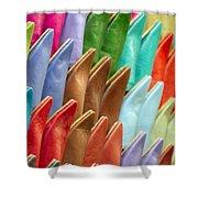 Marrakech Slippers Shower Curtain