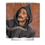 Marrakech Snake Charmer Shower Curtain