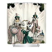 Marriage Of Candide Shower Curtain