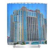 Marriott Waterfront-2 Shower Curtain