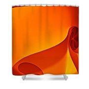 Mars Illuminations Shower Curtain