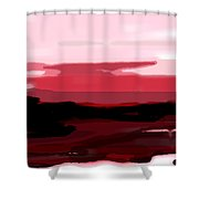 Marsalasky Shower Curtain by KR Moehr