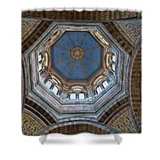 Marseille Cathedral St Mary Major Dome And Cupola Shower Curtain