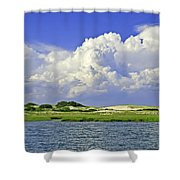 Marsh And Dunes Shower Curtain