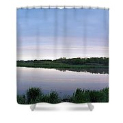 Marsh Calm Shower Curtain