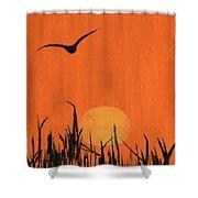 Marsh Home Shower Curtain