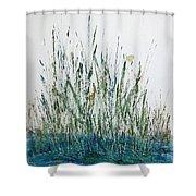 Marsh Life II Shower Curtain