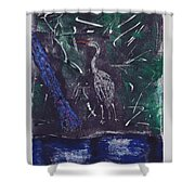 Marsh Magic Shower Curtain