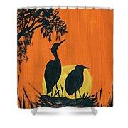 Marsh Nest Shower Curtain