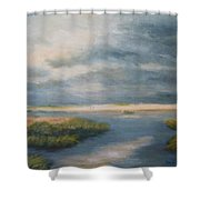 Marsh View Shower Curtain