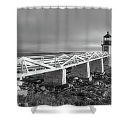 Marshall Point Lighthouse Shower Curtain