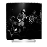 Marshall Tucker Winterland 1975 #12 Enhanced Bw Shower Curtain