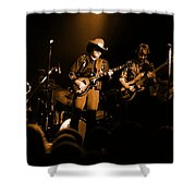 Marshall Tucker Winterland 1975 #12 Enhanced In Amber Shower Curtain