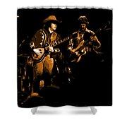 Marshall Tucker Winterland 1975 #17 Enhanced In Amber Shower Curtain