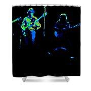 Marshall Tucker Winterland 1975 #18 Enhanced In Cosmicolors Shower Curtain