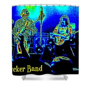 Marshall Tucker Winterland 1975 #18 In Special Cosmicolors With Text Shower Curtain