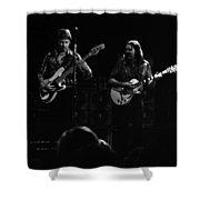 Marshall Tucker Winterland 1975 #36 Enhanced Bw Shower Curtain