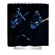 Marshall Tucker Winterland 1975 #36 Enhanced In Blue Shower Curtain