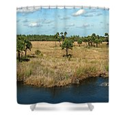 Marshland Shower Curtain